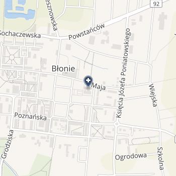 Samodzielny Gminny Publiczny ZOZ w Błoniu na mapie