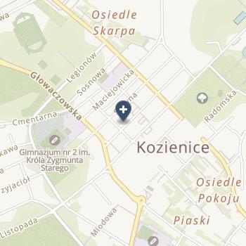 """SPZOZ """"Przychodnie Kozienickie"""" na mapie"""