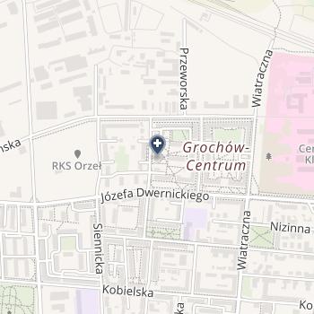 Samodzielny Zespół Publicznych Zakładów Lecznictwa Otwartego Warszawa Praga Południe na mapie