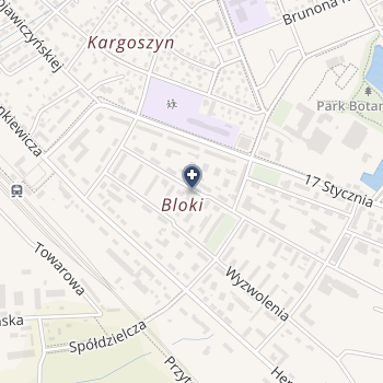 Specjalistyczny Szpital Wojewódzki w Ciechanowie na mapie