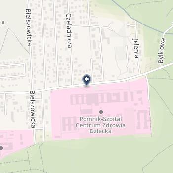 """Instytut """"Pomnik - Centrum Zdrowia Dziecka"""" na mapie"""