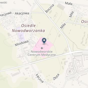 Nowodworskie Centrum Medyczne w Nowym Dworze Mazowieckim na mapie