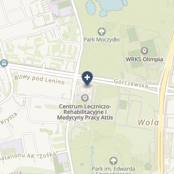 Centrum Leczniczo-Rehabilitacyjne i Medycyny Pracy Attis na mapie