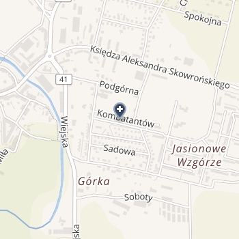 Prywatny Gabinet Stomatologiczny Katarzyna Rączy na mapie