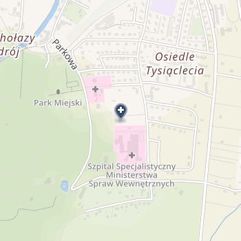 SPZOZ Szpital Specjalistyczny Ministerstwa Spraw Wewnętrznych i Administracji w Głuchołazach na mapie