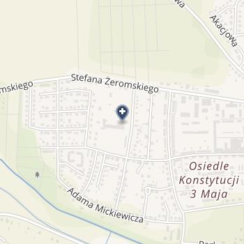 Szpital Powiatowy w Głubczycach na mapie