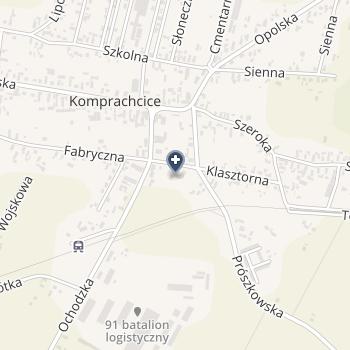 ISPL - Leszczyńska-Bartuskova na mapie