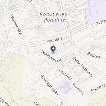 Specjalistyczny Gabinet Dermatologiczny Małgorzata Krasoń na mapie