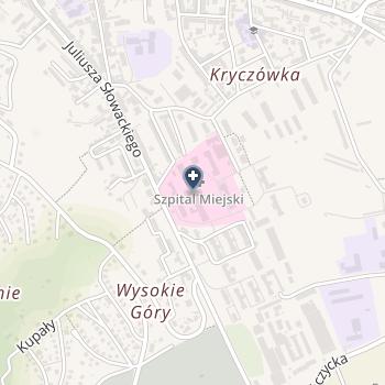 Szpital Miejski w Przemyślu na mapie