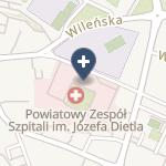 Powiatowy Zespół Szpitali na mapie