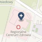Regionalne Centrum Zdrowia na mapie