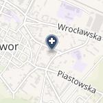Przychodnia Rejonowa w Jaworze na mapie