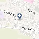 """NZOZ """"Astra-Med"""" na mapie"""