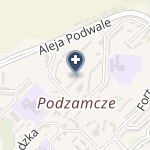 """Wałbrzyski Ośrodek Okulistyczny """"Focus"""" na mapie"""