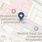 Wojewódzki Szpital Specjalistyczny im.J.Gromkowskiego na mapie