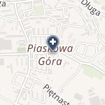 """NZOZ """"Przychodnia Piaskowa Góra"""" na mapie"""