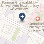 SPSK Nr 1 we Wrocławiu na mapie