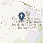 "NZOZ ""Alfa"" - Centrum Ortopedii i Traumatologii na mapie"