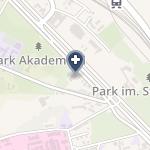 Wojewódzkie Centrum Onkologii w Gdańsku na mapie