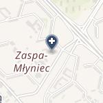 """NZOZ """"Dentus Pro"""" na mapie"""