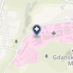 Uniwersyteckie Centrum Kliniczne na mapie