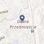 Obwód Lecznictwa Kolejowego - SPZOZ w Bielsku-Białej na mapie