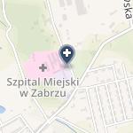 Szpital Miejski w Zabrzu na mapie
