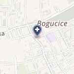 Szpital Zakonu Bonifratrów w Katowicach na mapie