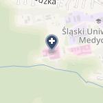 SPSK Nr 6 Śląskiego Uniwersytetu Medycznego w Katowicach Górnośląskie Centrum Zdrowia Dziecka na mapie