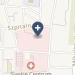 SPZOZ Szpital Specjalistyczny w Zabrzu na mapie