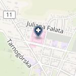 SPZOZ Wojewódzki Szpital Specjalistyczny Nr 4 w Bytomiu na mapie