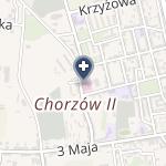 SPZOZ Zespół Szpitali Miejskich w Chorzowie na mapie