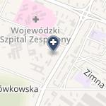Wojewódzki Szpital Specjalistyczny im.św.Rafała w Czerwonej Górze na mapie