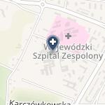 Świętokrzyskie Centrum Onkologii w Kielcach na mapie