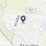 Poradnia Dermatologiczna Bożena Wojciechowska - Burdzel na mapie