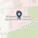 Wojewódzki Szpital Zespolony w Lesznie na mapie