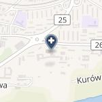 Wojewódzki Szpital Zespolony w Koninie na mapie