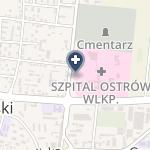 Zespół Zakładów Opieki Zdrowotnej Ostrów Wielkopolski na mapie