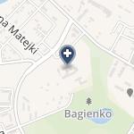 Szpital w Śremie na mapie