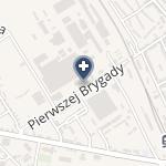 """NZOZ """"Kmw - Centrum Zdrowia"""" na mapie"""
