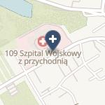 109 Szpital Wojskowy z Przychodnią Samodzielny Publiczny ZOZ na mapie