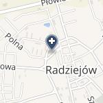 """NZOZ """"Eskulap""""- Zofia Grudewicz, Andrzej Grudewicz w Radziejowie na mapie"""