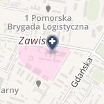SPZOZ 10 Wojskowy Szpital Kliniczny z Polikliniką na mapie