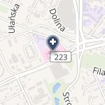 Kujawsko - Pomorskie Centrum Pulmonologii w Bydgoszczy na mapie