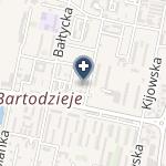 """NZOZ - Wielospecjalistyczna Przychodnia """"Bartodzieje"""" w Bydgoszczy na mapie"""