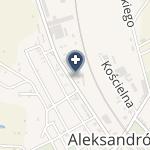 NZOZ Kolejowy Szpital Uzdrowiskowy w Ciechocinku na mapie
