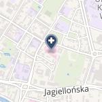 Samodzielny Publiczny Wielospecjalistyczny ZOZ Ministerstwa Spraw Wewnętrznych w Bydgoszczy na mapie