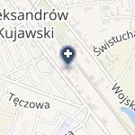 Powiatowy Szpital w Aleksandrowie Kujawskim na mapie