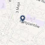 ISPL w Zakresie Foniatrii i Otolaryngologii Danuta Toman na mapie