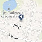 """NZOZ Ośrodek Rehabilitacyjno - Readaptacyjny """"Arka"""" na mapie"""